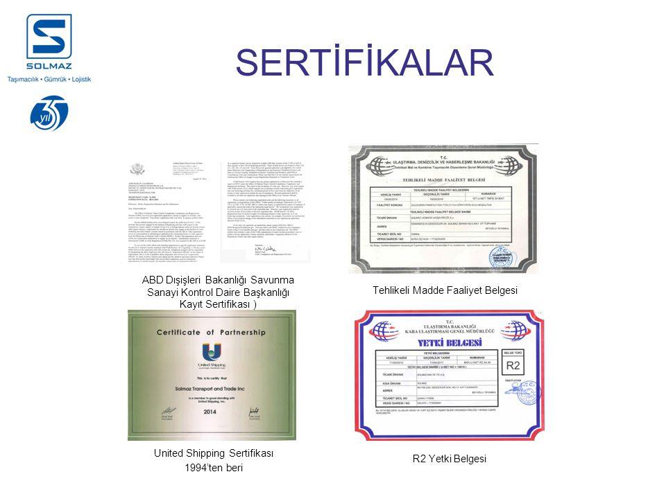 United Shipping Sertifikası