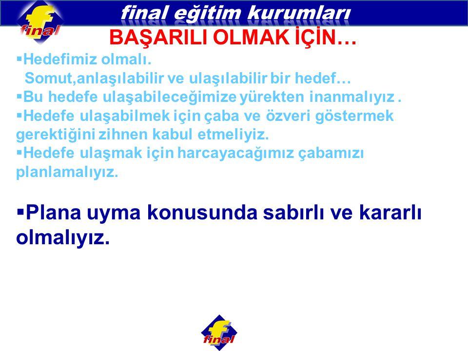 final eğitim kurumları