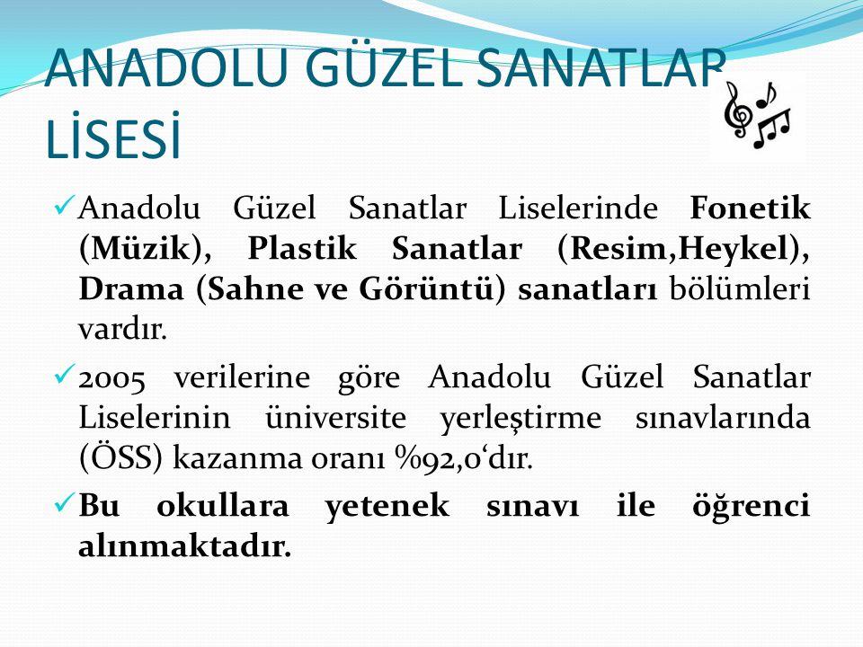 ANADOLU GÜZEL SANATLAR LİSESİ
