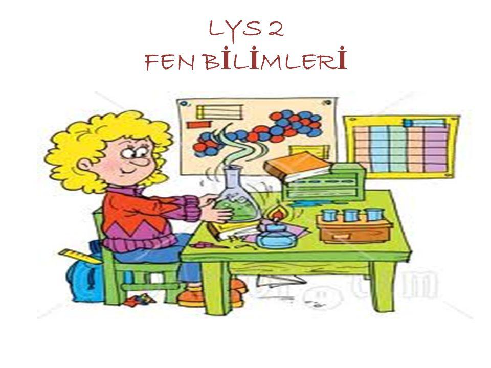 LYS 2 FEN BİLİMLERİ
