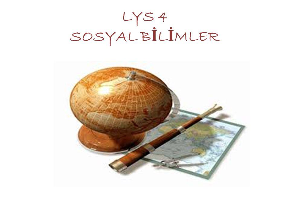 LYS 4 SOSYAL BİLİMLER