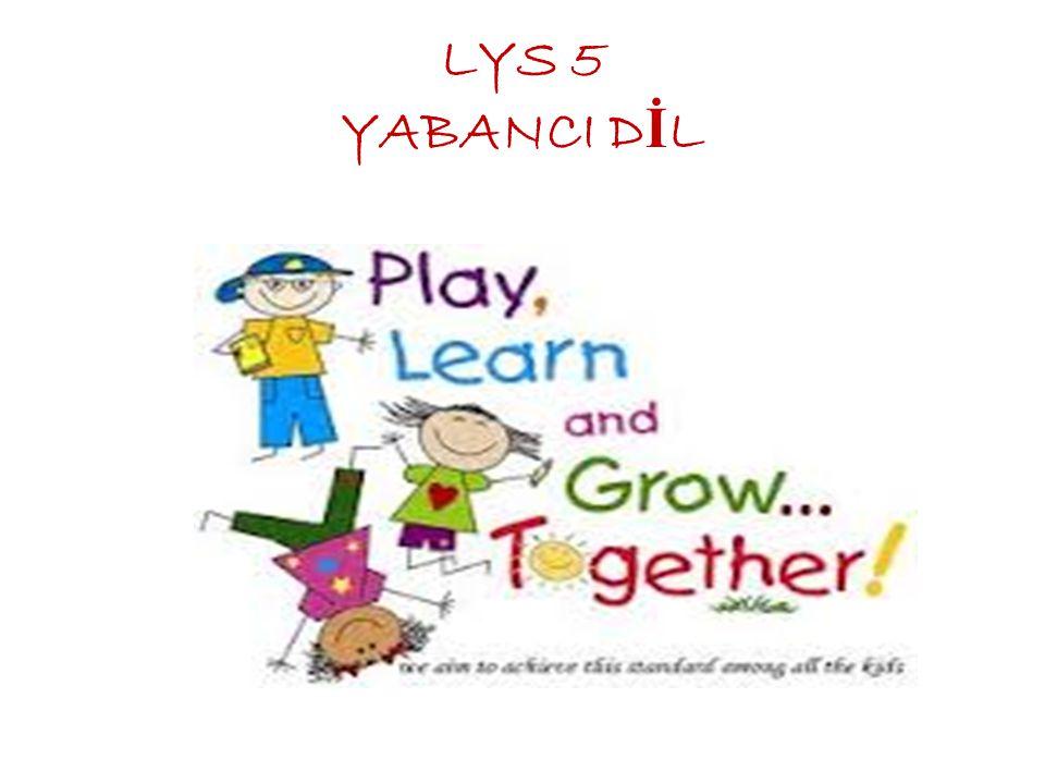 LYS 5 YABANCI DİL