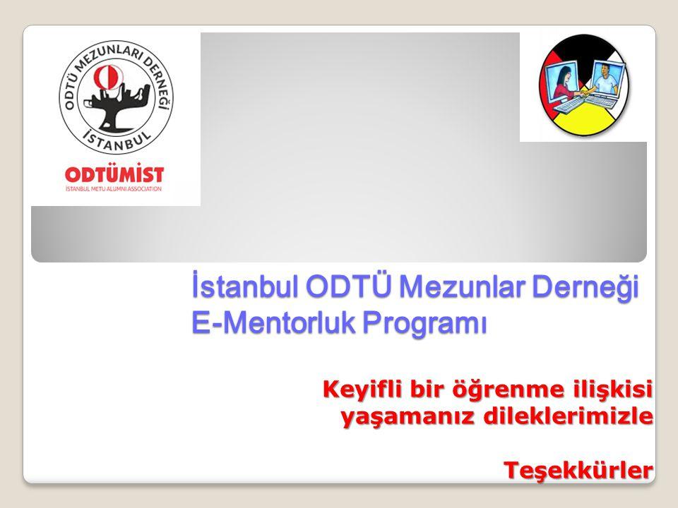 İstanbul ODTÜ Mezunlar Derneği E-Mentorluk Programı
