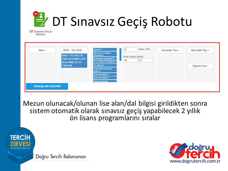 DT Sınavsız Geçiş Robotu