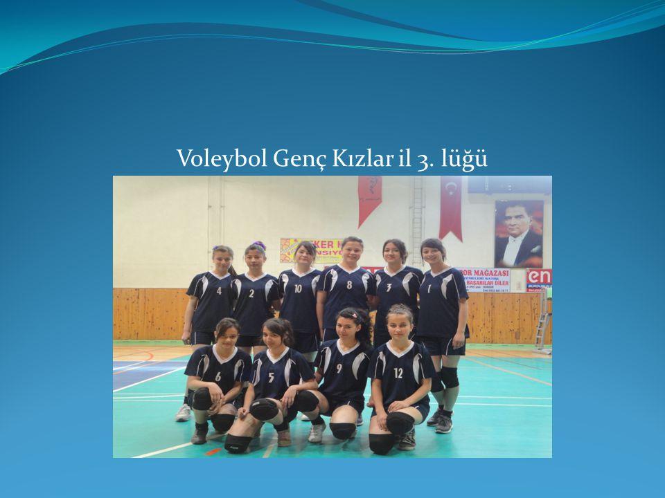Voleybol Genç Kızlar il 3. lüğü