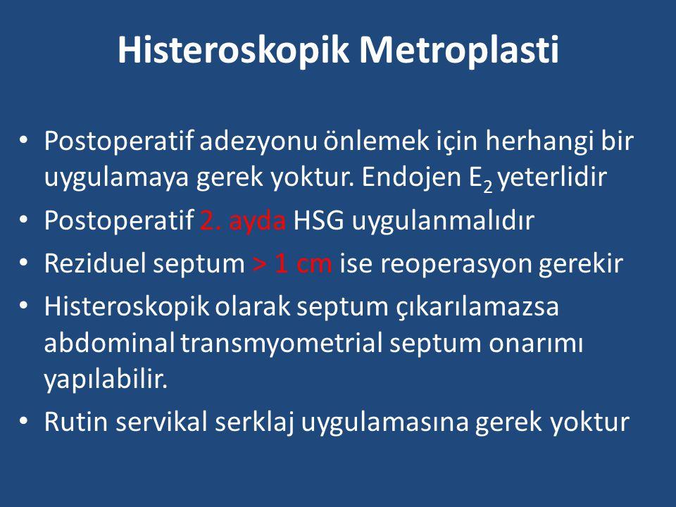 Histeroskopik Metroplasti