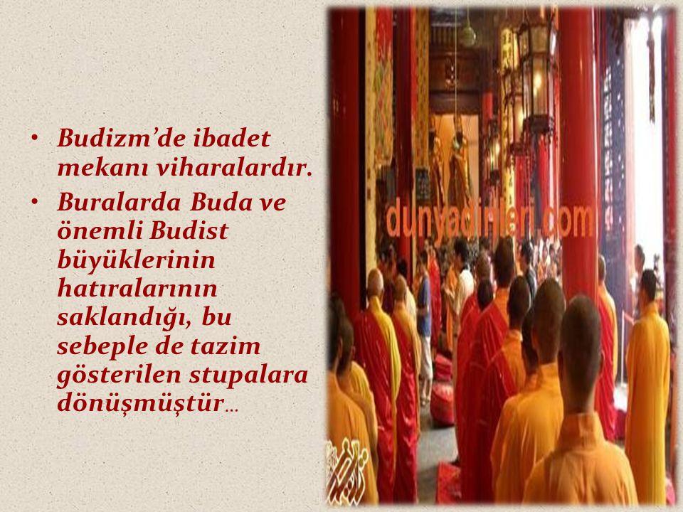 Budizm'de ibadet mekanı viharalardır.