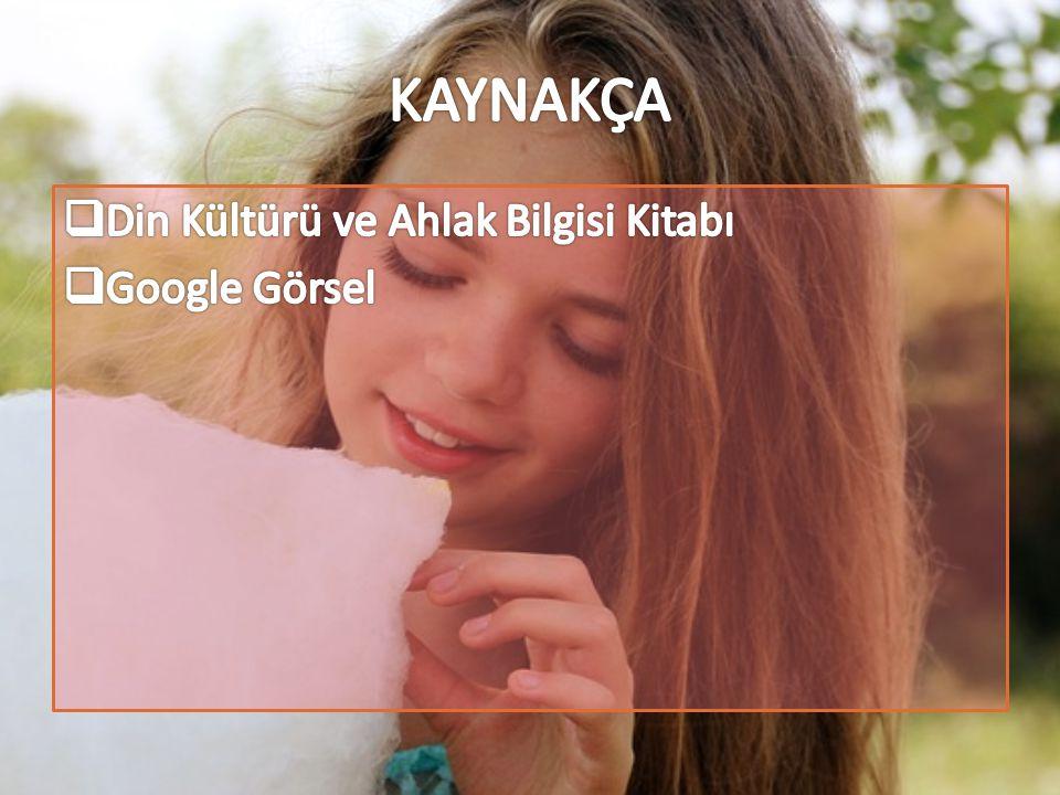 KAYNAKÇA Din Kültürü ve Ahlak Bilgisi Kitabı Google Görsel
