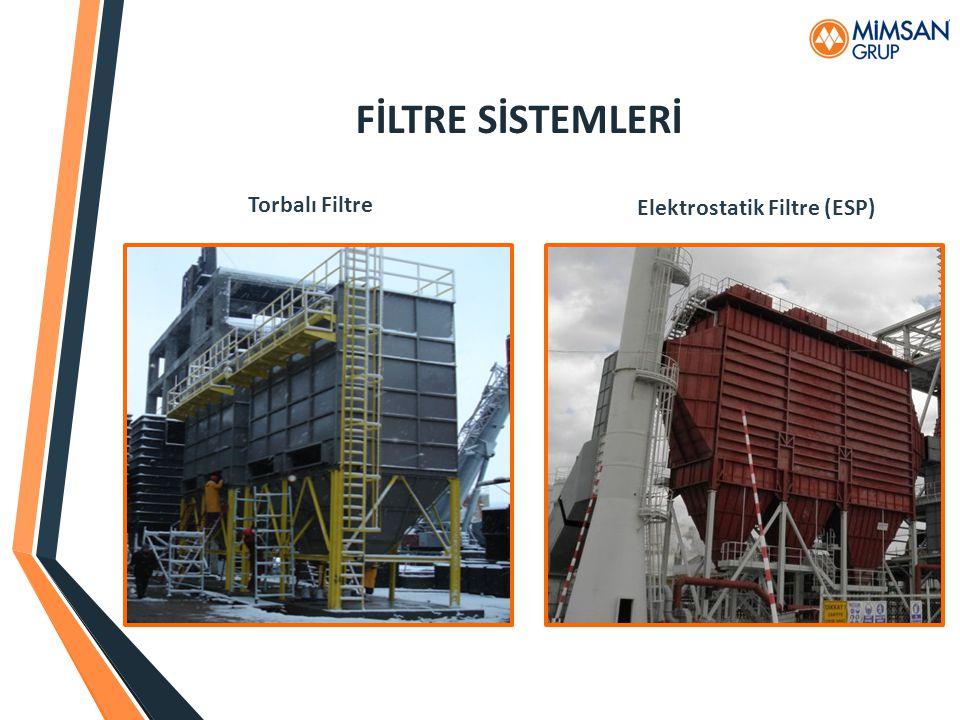 FİLTRE SİSTEMLERİ Torbalı Filtre Elektrostatik Filtre (ESP)