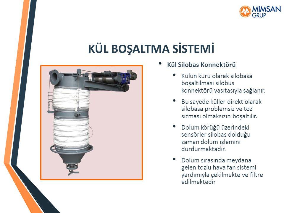 KÜL BOŞALTMA SİSTEMİ Kül Silobas Konnektörü