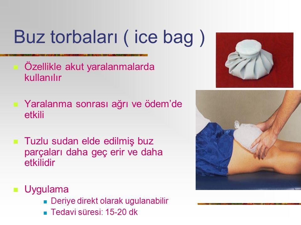 Buz torbaları ( ice bag )