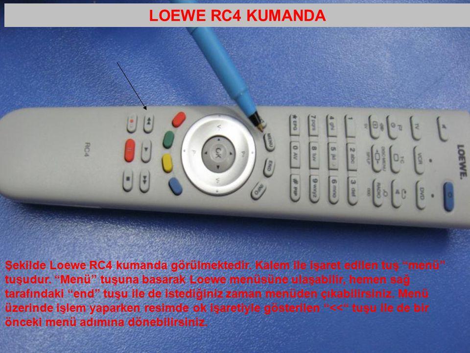 LOEWE RC4 KUMANDA