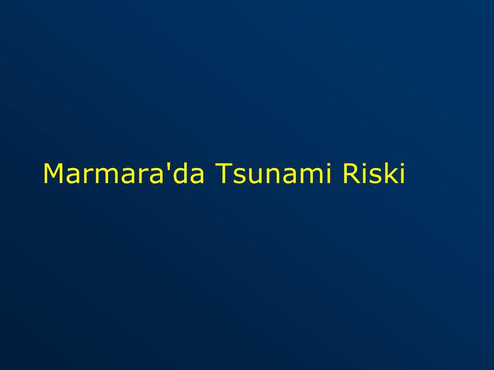 Marmara da Tsunami Riski