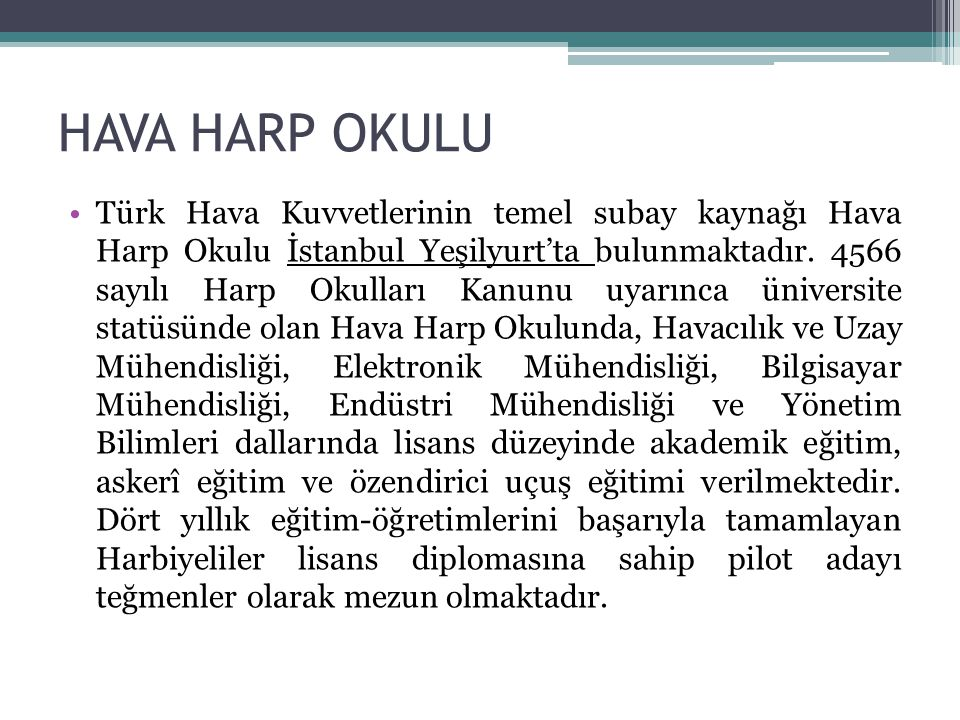 HAVA HARP OKULU