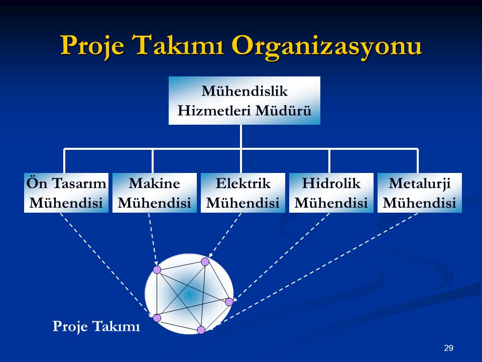 Proje Takımı Organizasyonu