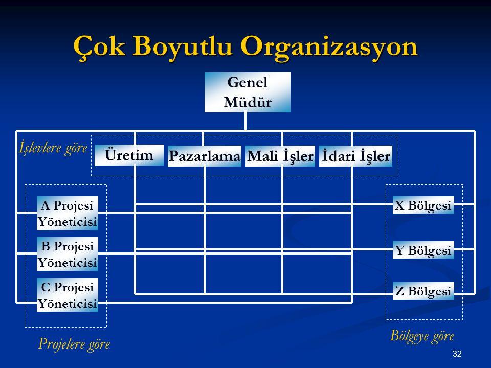 Çok Boyutlu Organizasyon
