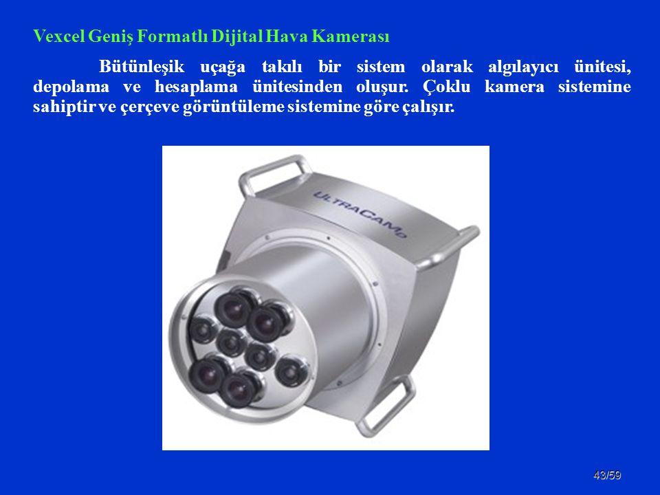 Vexcel Geniş Formatlı Dijital Hava Kamerası
