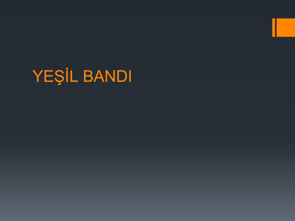 YEŞİL BANDI