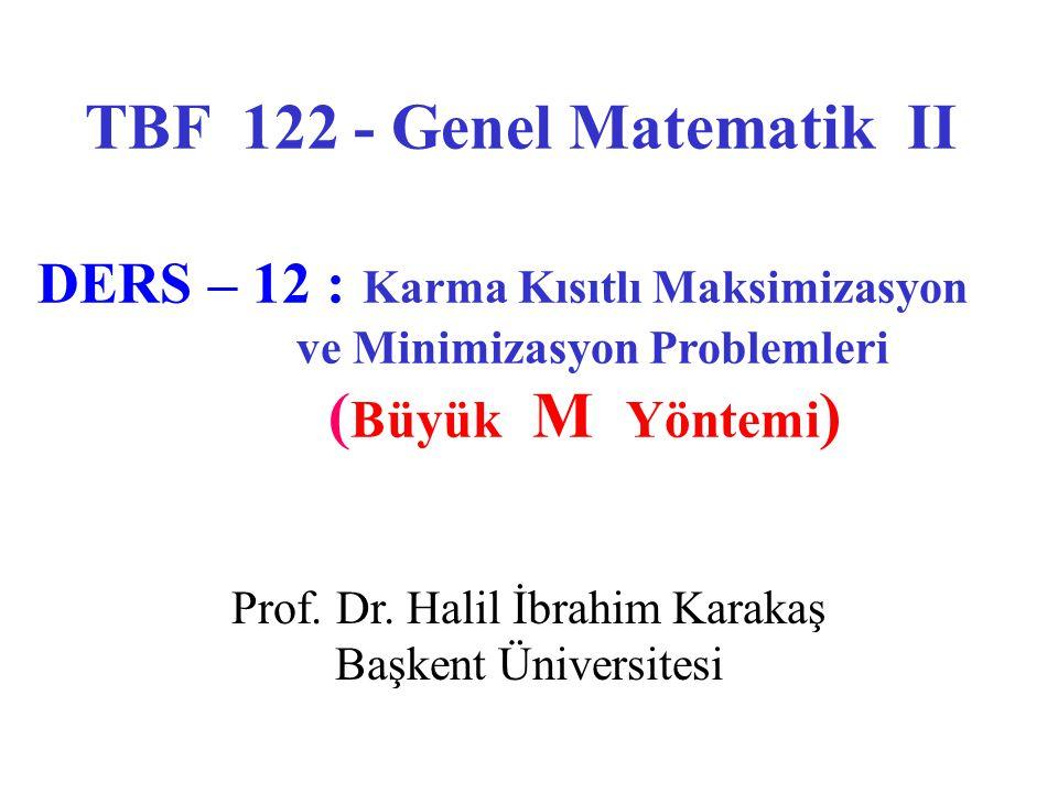 Prof. Dr. Halil İbrahim Karakaş