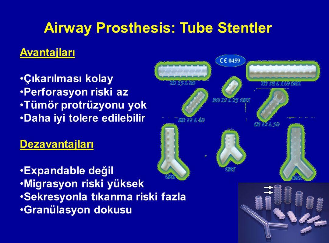 Airway Prosthesis: Tube Stentler