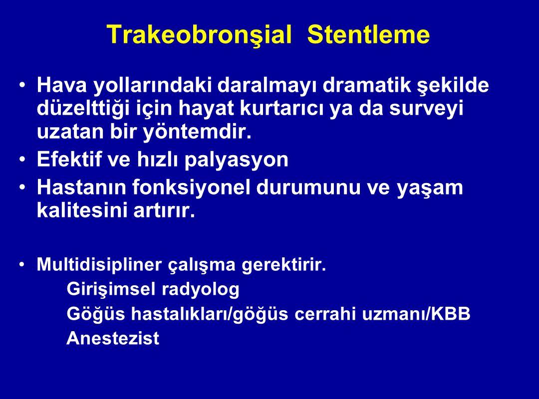Trakeobronşial Stentleme