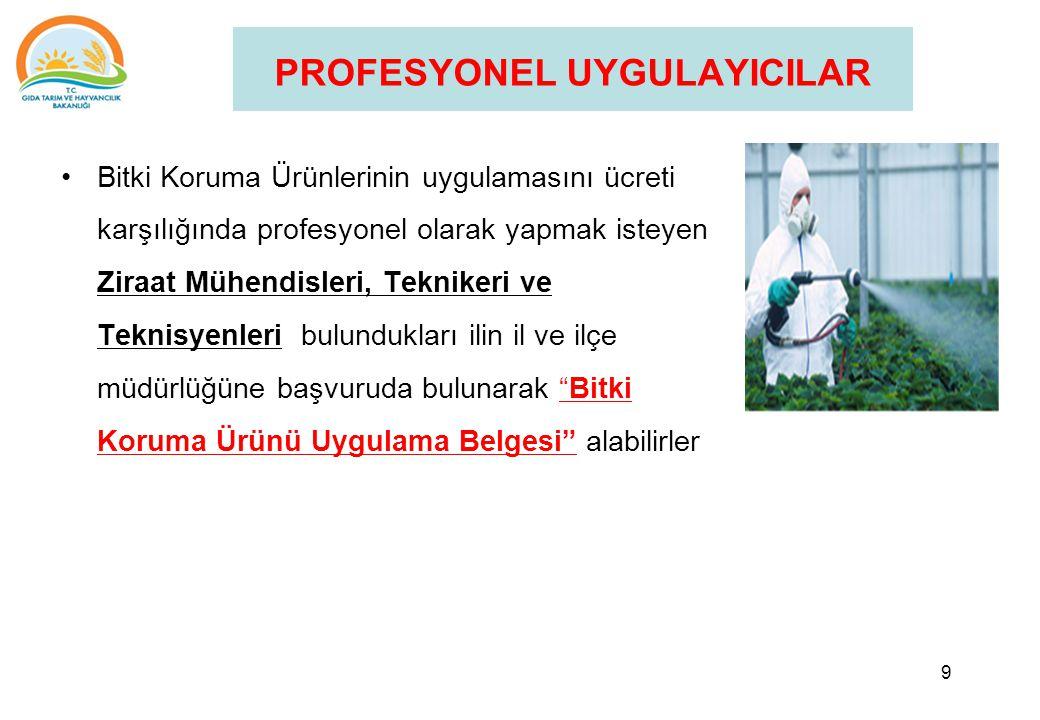 PROFESYONEL UYGULAYICILAR