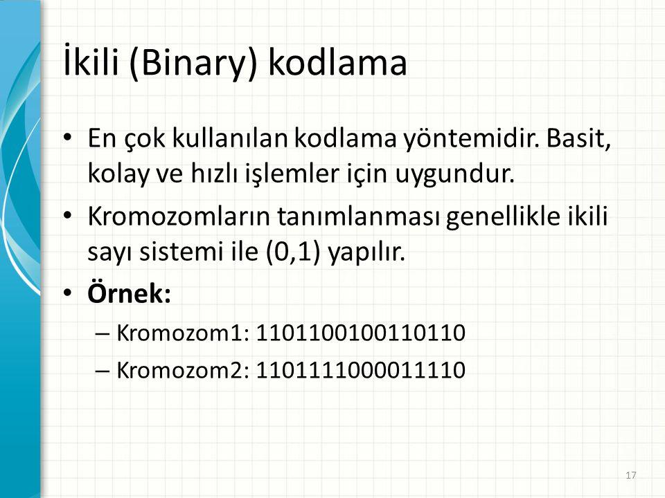 İkili (Binary) kodlama