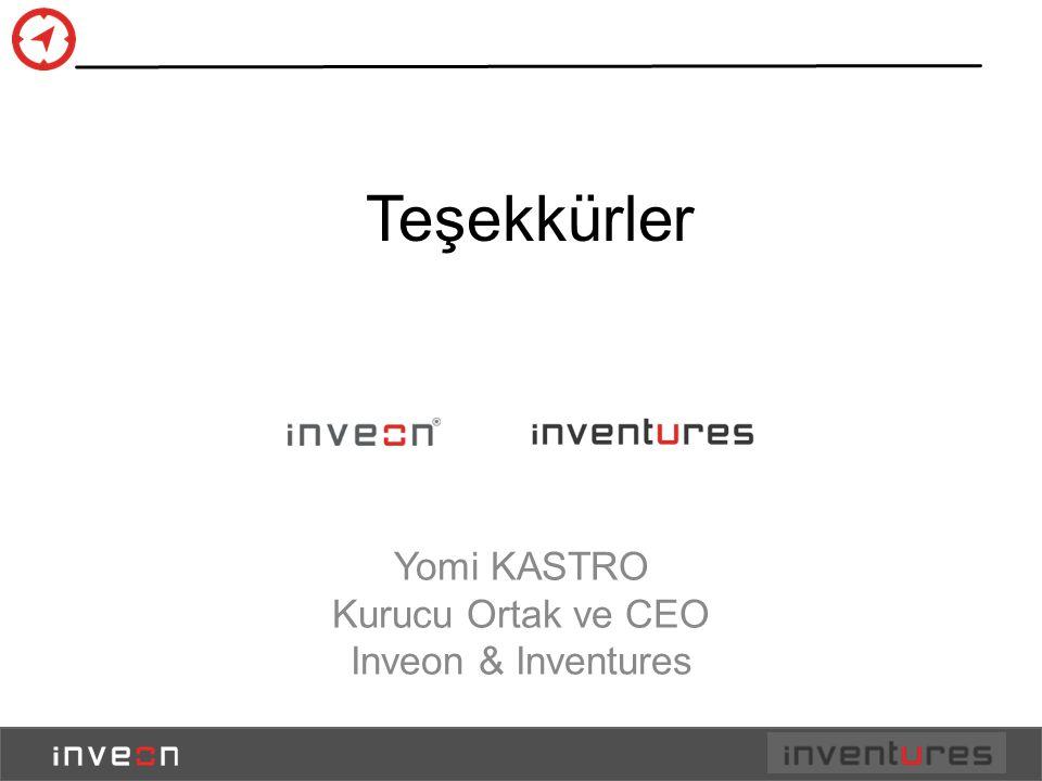 Yomi KASTRO Kurucu Ortak ve CEO Inveon & Inventures