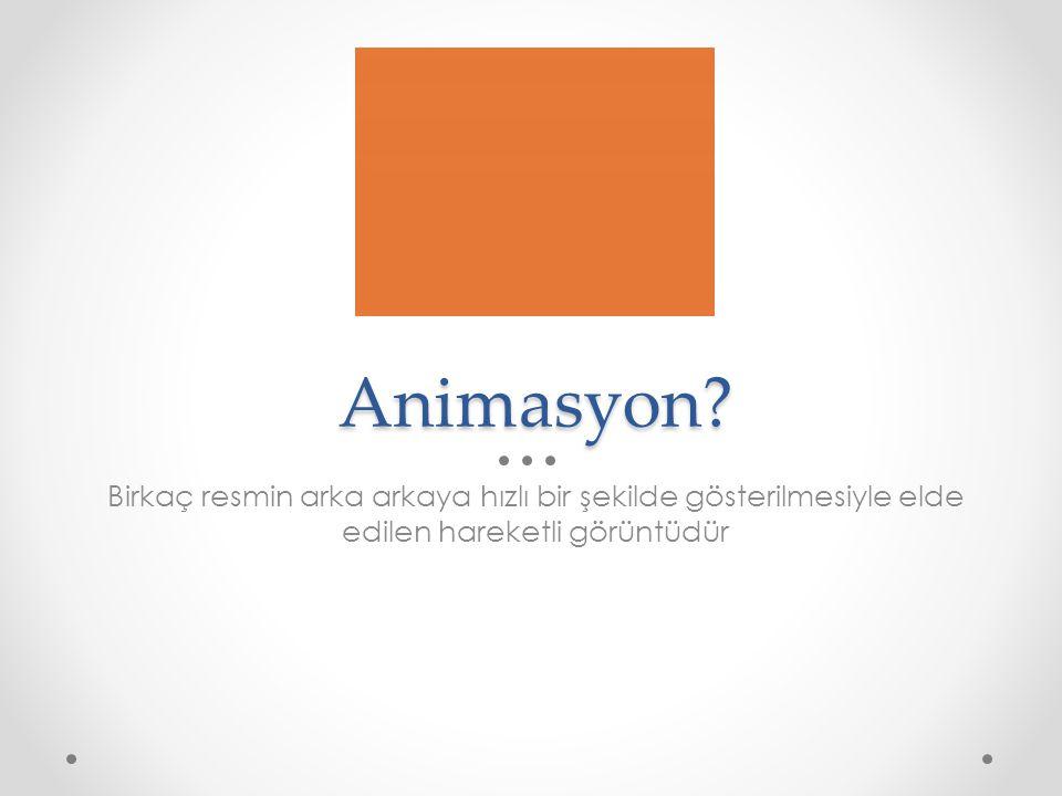 Animasyon.