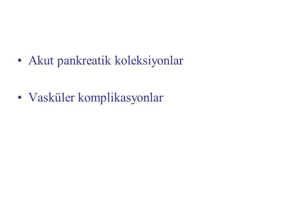 Akut pankreatik koleksiyonlar