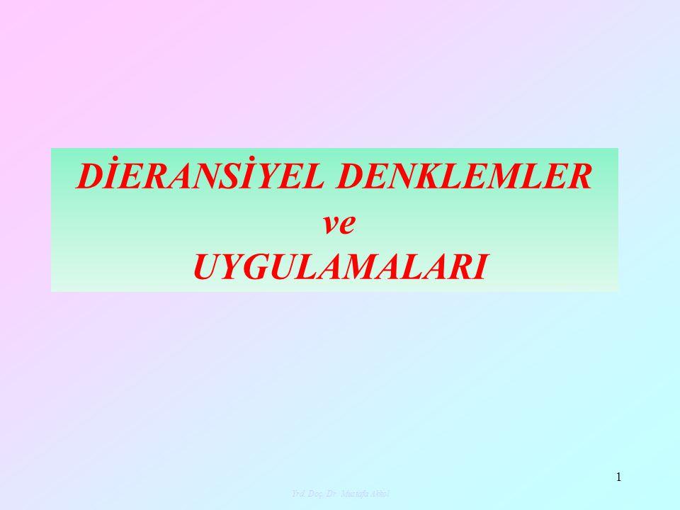 DİERANSİYEL DENKLEMLER