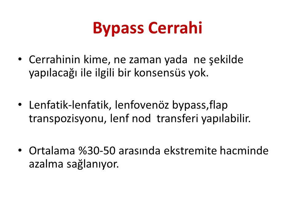 Bypass Cerrahi Cerrahinin kime, ne zaman yada ne şekilde yapılacağı ile ilgili bir konsensüs yok.