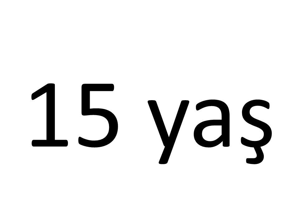 15 yaş