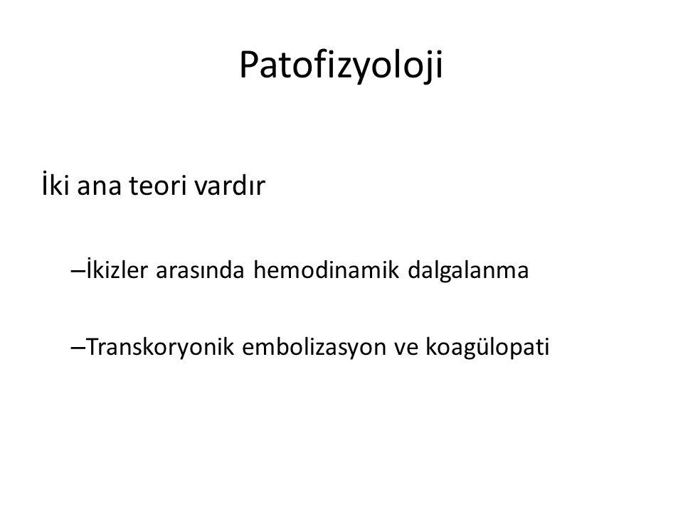 Patofizyoloji İki ana teori vardır