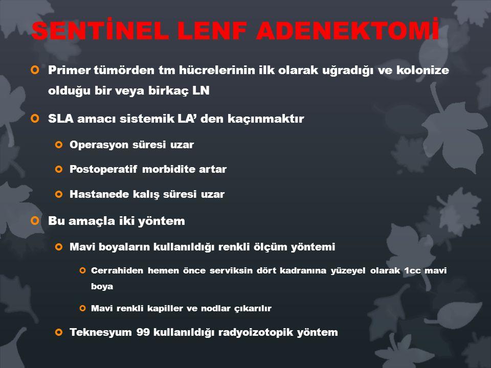 SENTİNEL LENF ADENEKTOMİ