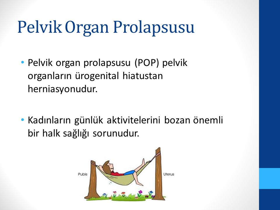 Pelvik Organ Prolapsusu