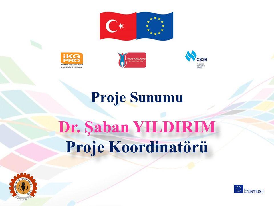 Dr. Şaban YILDIRIM Proje Koordinatörü