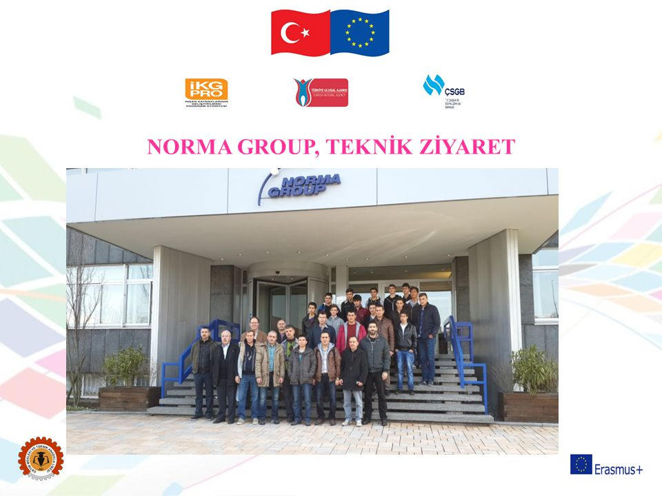 NORMA GROUP, TEKNİK ZİYARET