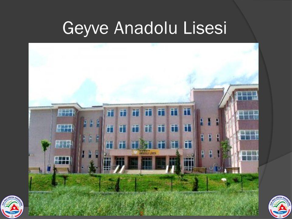 Geyve Anadolu Lisesi