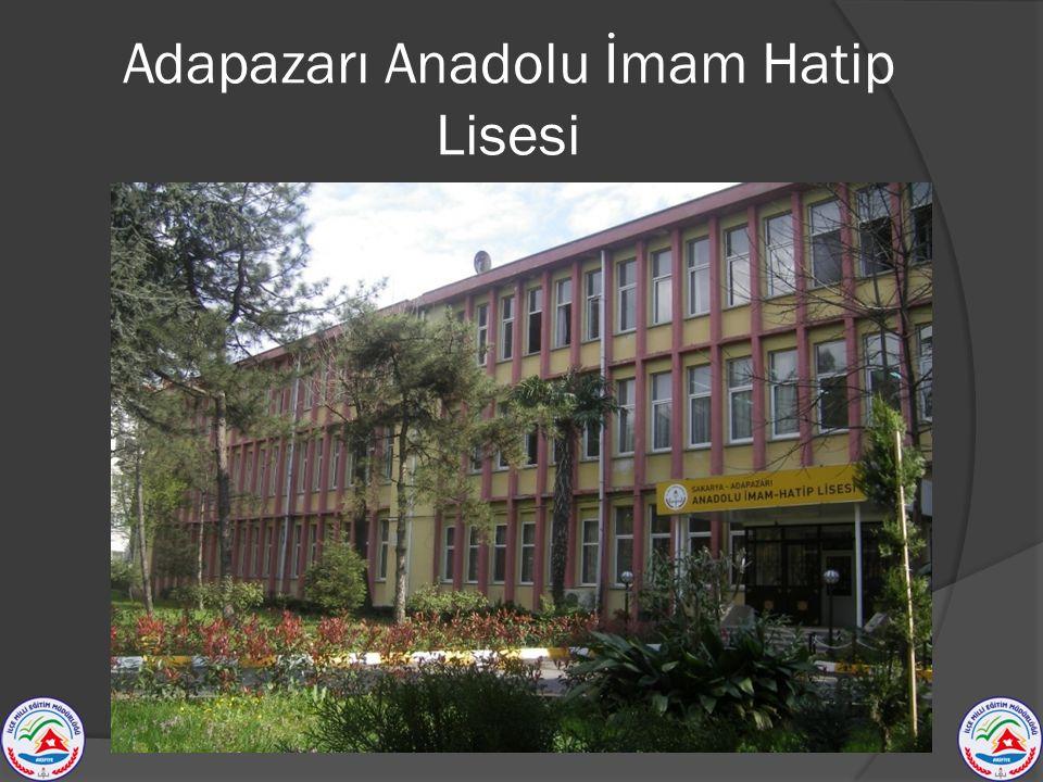 Adapazarı Anadolu İmam Hatip Lisesi