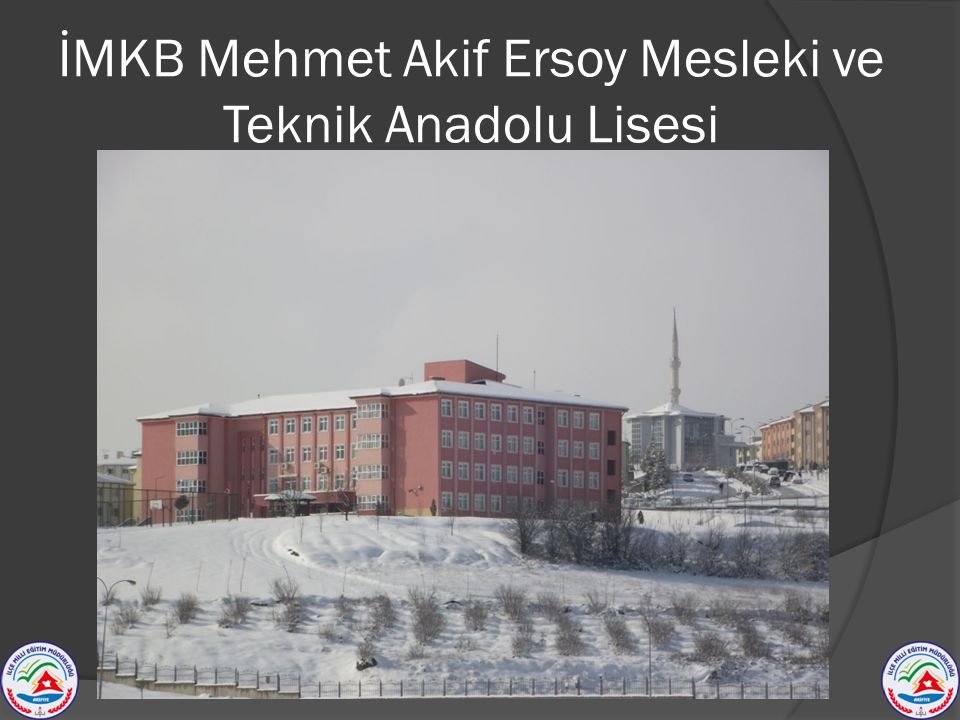 İMKB Mehmet Akif Ersoy Mesleki ve Teknik Anadolu Lisesi