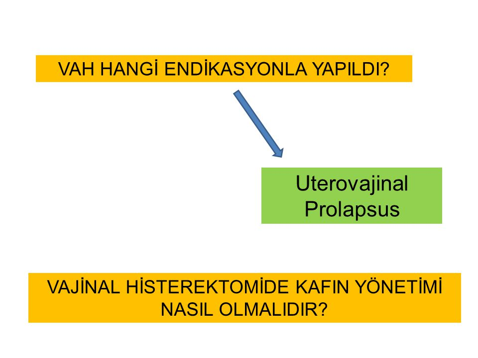 Uterovajinal Prolapsus