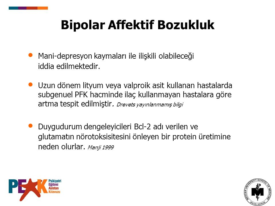 Bipolar Affektif Bozukluk
