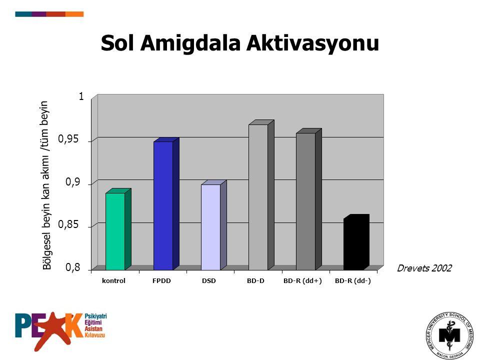 Sol Amigdala Aktivasyonu