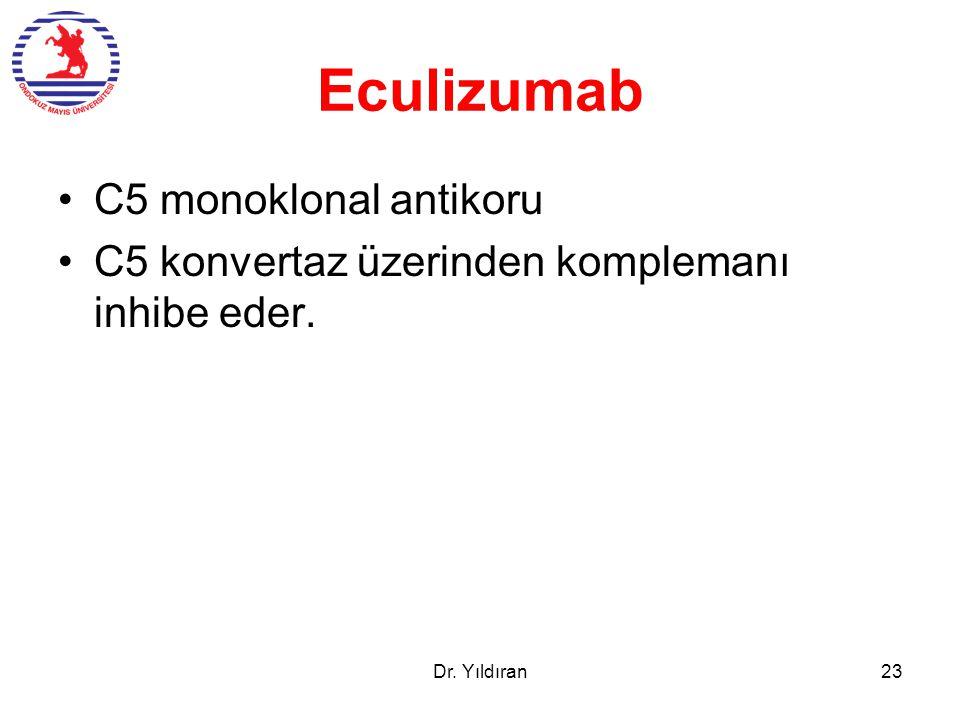 Eculizumab C5 monoklonal antikoru