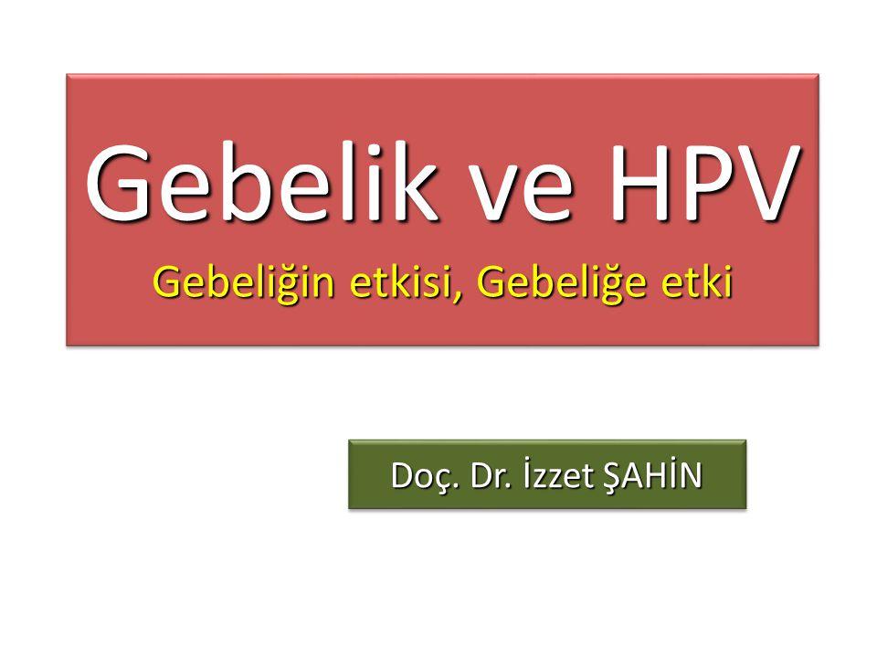 Gebelik ve HPV Gebeliğin etkisi, Gebeliğe etki