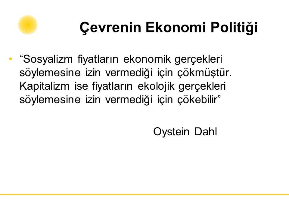 Çevrenin Ekonomi Politiği