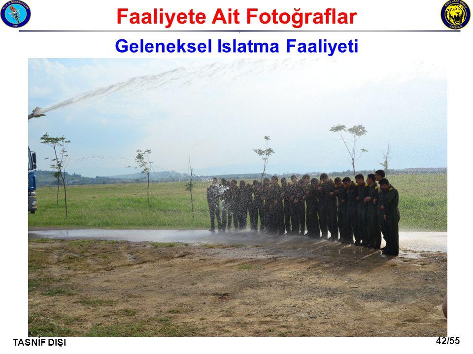 Faaliyete Ait Fotoğraflar Geleneksel Islatma Faaliyeti