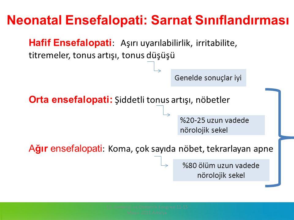 Neonatal Ensefalopati: Sarnat Sınıflandırması