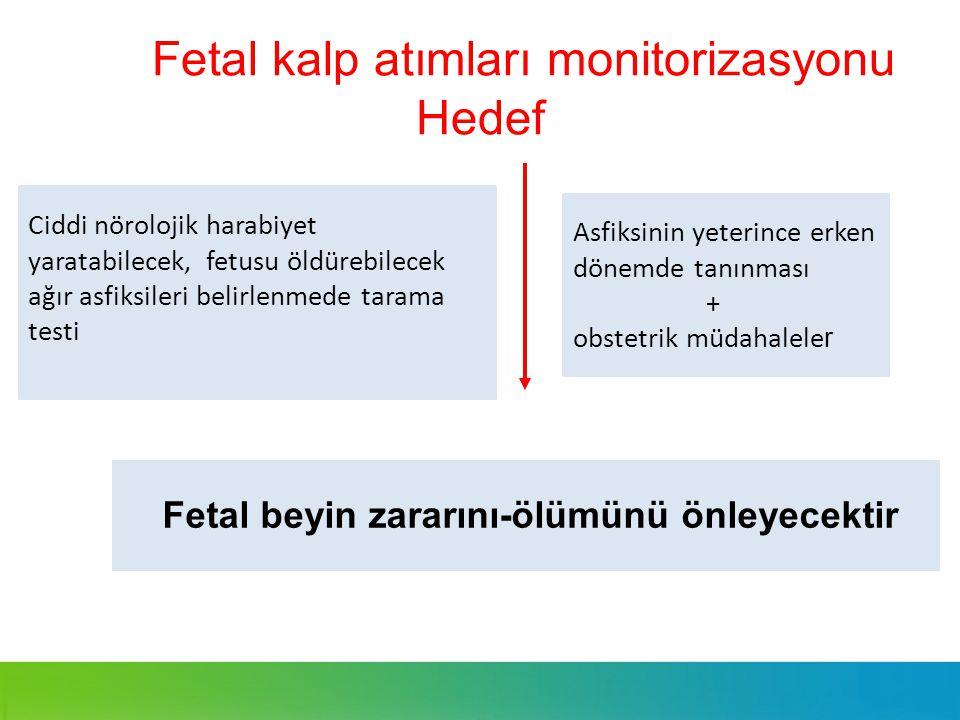 Fetal kalp atımları monitorizasyonu Hedef